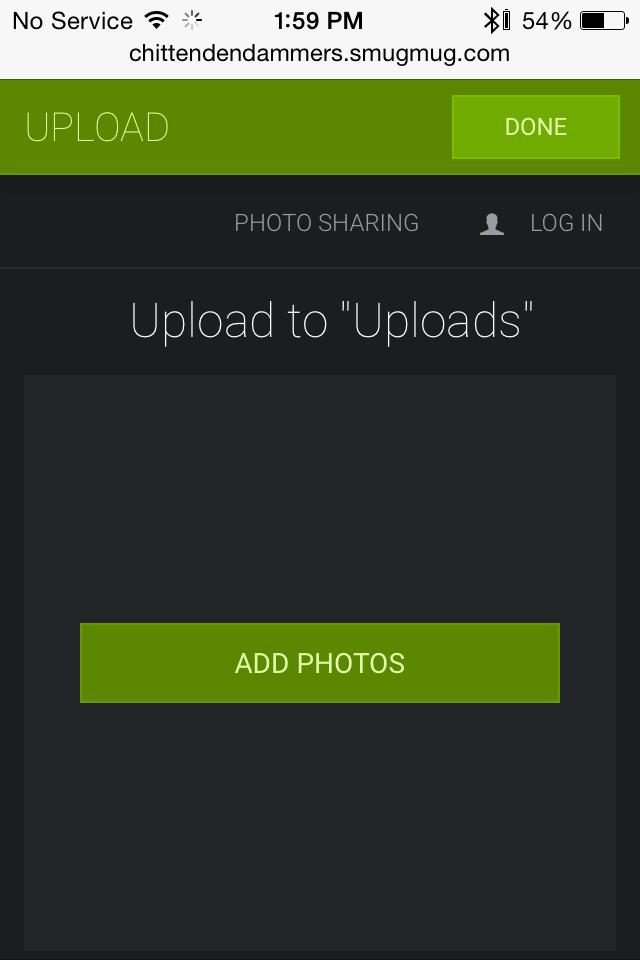 Smart Phone Uploader